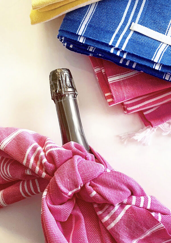 Wine Bottle Gift Wrap How-To